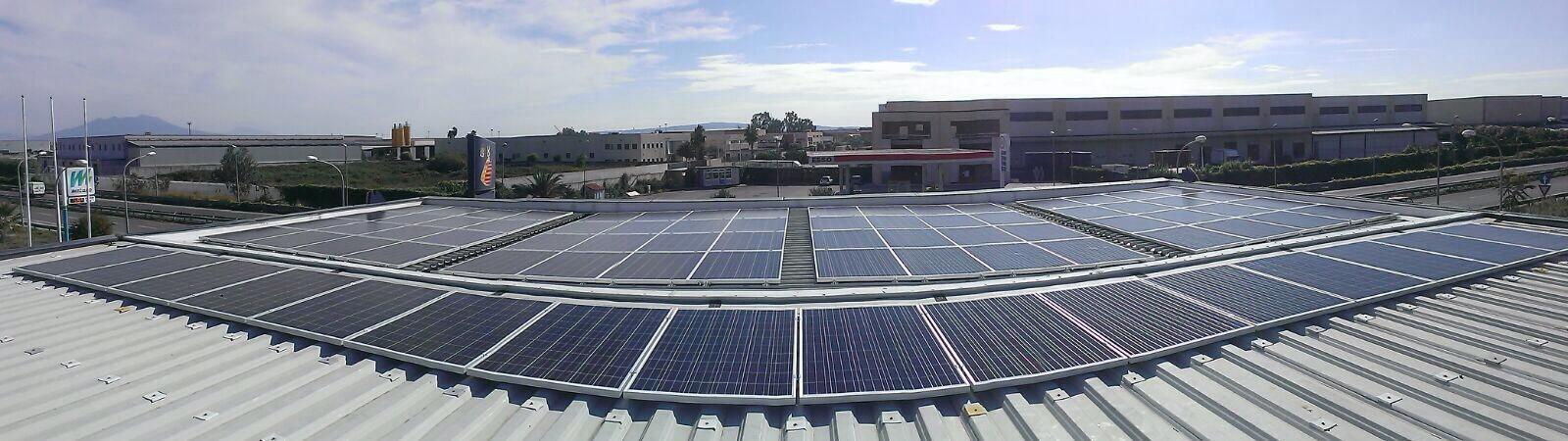 Impainto di produzione di energia elettrica da fonte rinnovabile, di potenza Kw20, a servizio della stazione Q8 di Carinaro (CE).